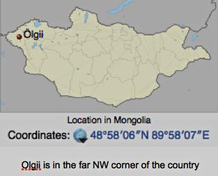 Location of Oglii