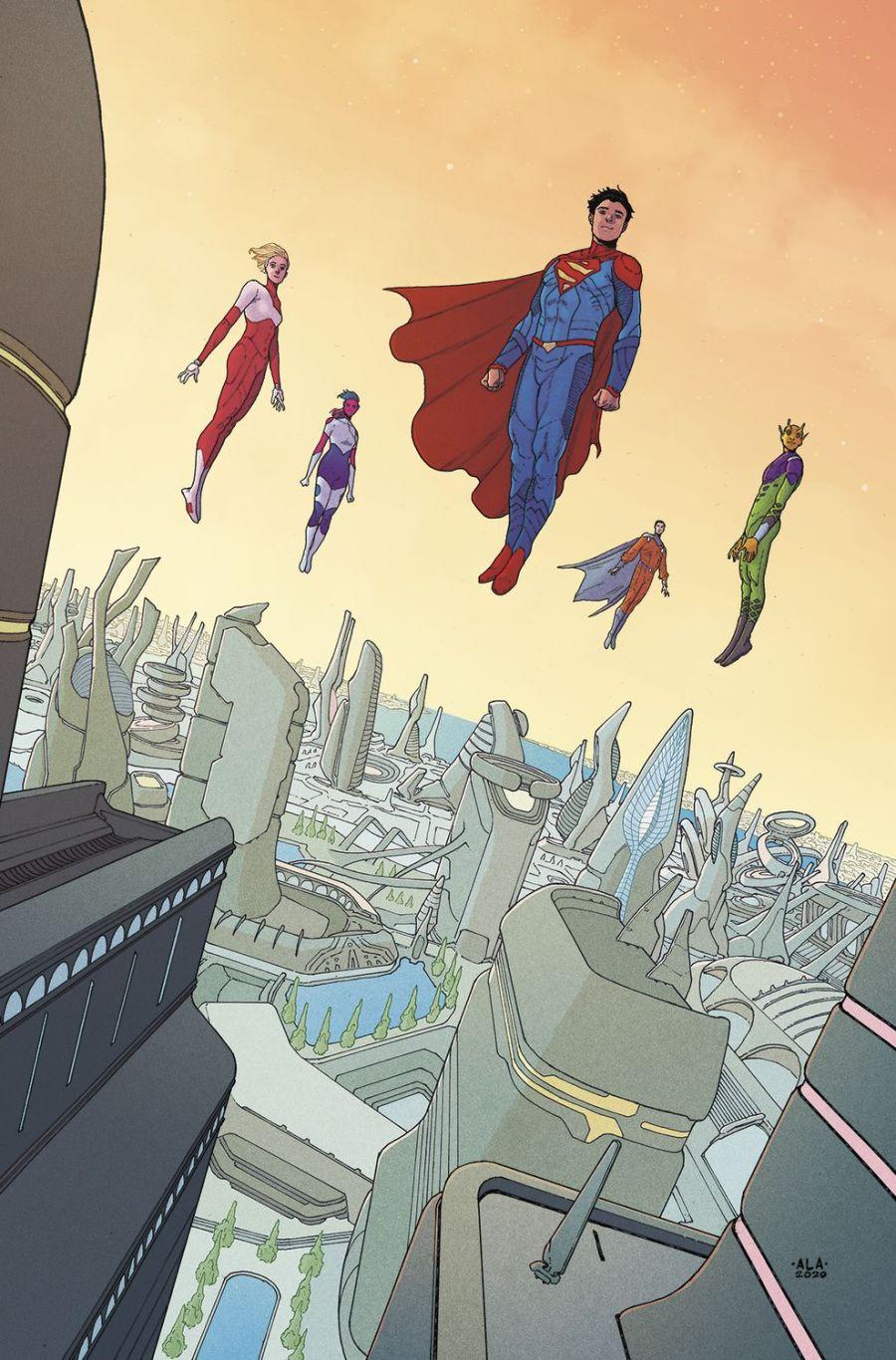DC: Legion Of Super Heroes #9 - The Aspiring Kryptonian