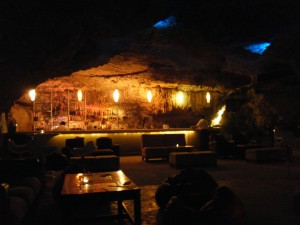 Meeting: A secluded corner of the Cave Bar