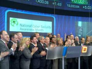NASDAQ Marks National Cyber Security Awareness Month