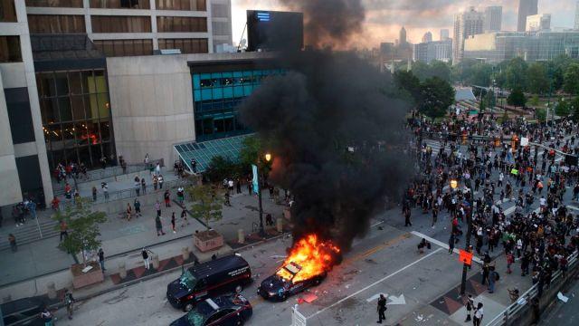CNN Center in Atlanta damaged during protests - CNN