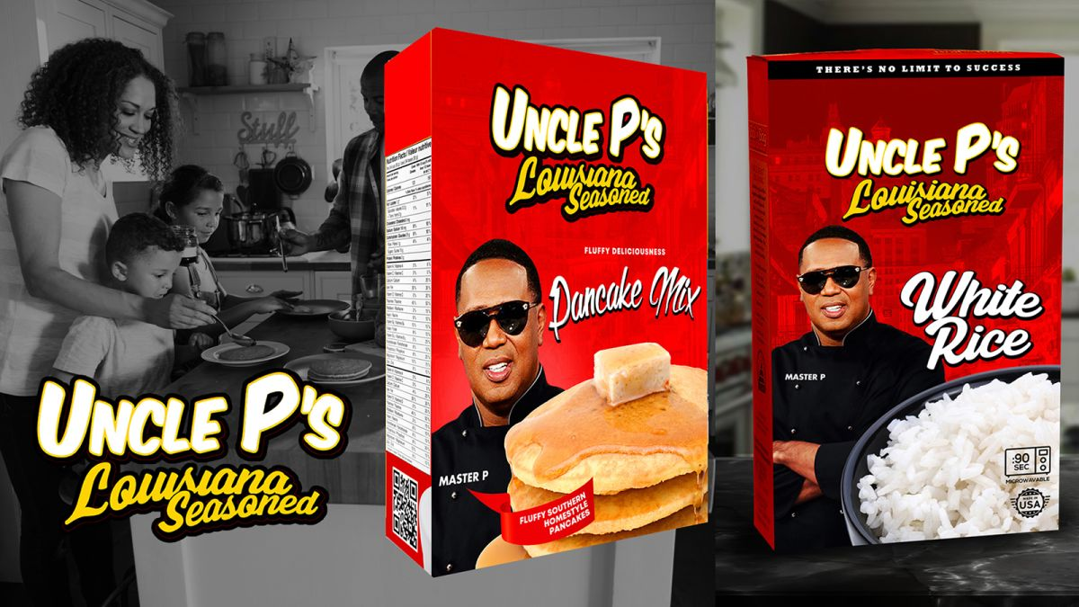 Master P introduces a new Black-owned food brand to replace Aunt Jemima and Uncle Ben's