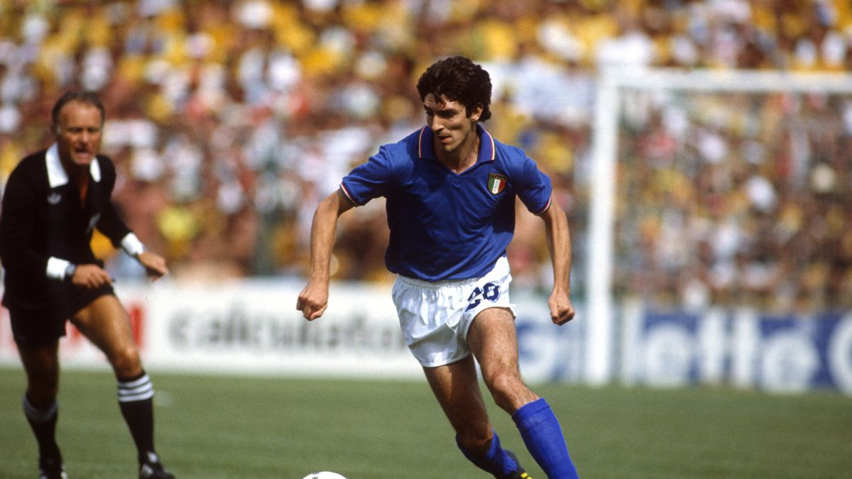 Paolo Rossi, Italian soccer great and World Cup winner, has died at the age  of 64 - CNN