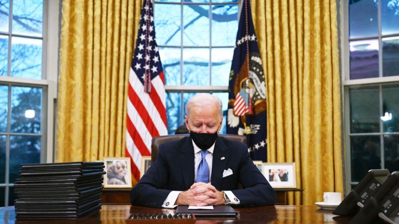 Inside Joe Biden's newly decorated Oval Office - CNNPolitics