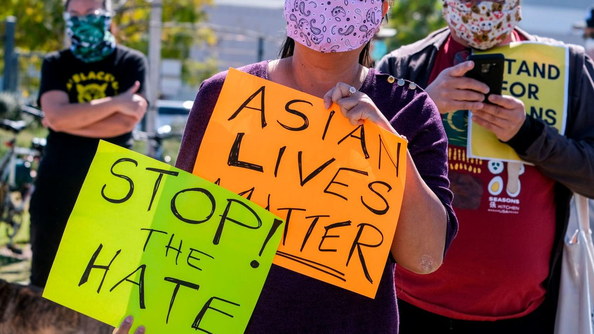 Racism is behind anti-Asian American violence, even when it's not a hate crime 3/19/21