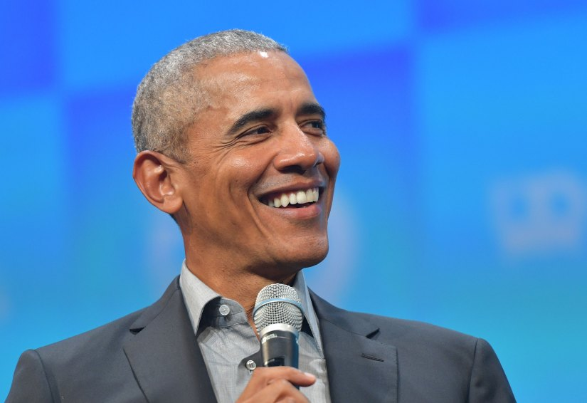 Former President Barack Obama speaks in Munich, Germany, in 2019.