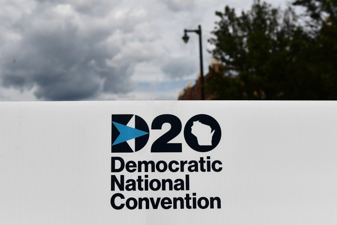A general view of the Wisconsin Center ahead of the Democratic National Convention on August 5 in Milwaukee, Wisconsin. Former Vice President Joe Biden has cancelled plans to travel to Milwaukee for the Democratic National Convention due to health and safety concerns over the coronavirus pandemic.