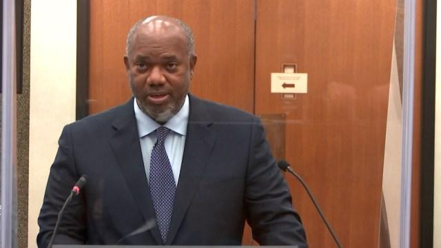 Prosecuting attorney Jerry Blackwell
