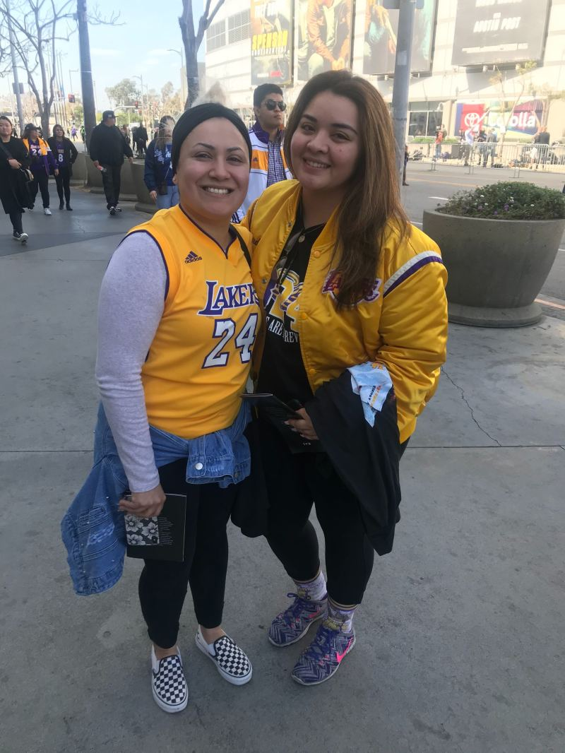 Stacey Lopez (left) and Dianna Rodriguez