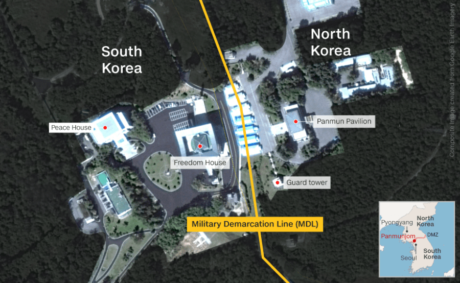 Joint Security Area - Mega North Korea Map