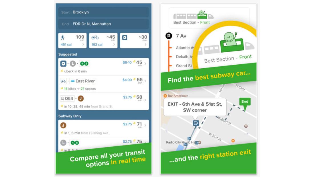 Best travel apps CityMapper