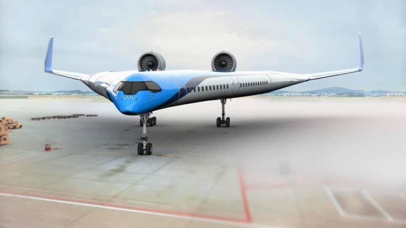 KLM TU Delft Flying-V