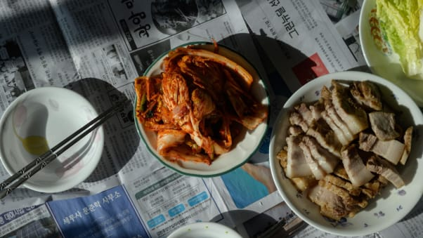 In 2013, kimjang -- the tradition of making and sharing kimchi -- was incribed as a UNESCO Intangible Heritage.