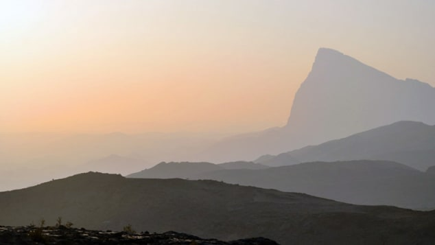 A tremendous view from Oman's Jebel Shams mountain.