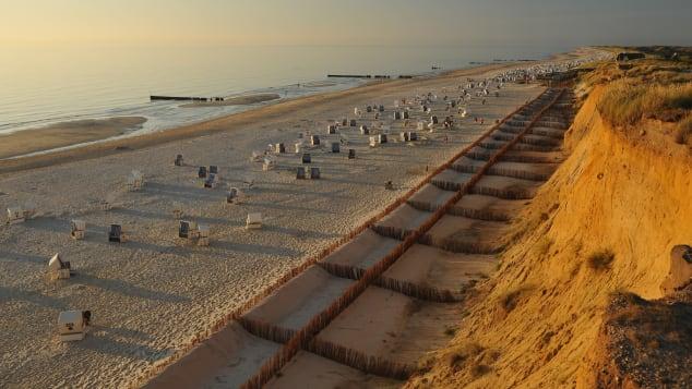German nudism- sylt kampen beach