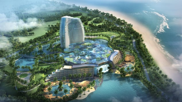 Paramount Boao, a five-star Hainan hotel designed by YWS Design & Architecture's Mike Stewart.