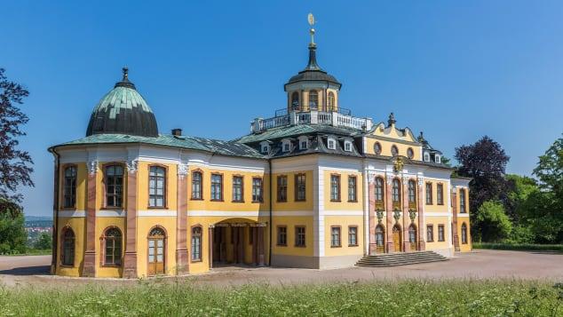 Weimar's Baroque Belvedere castle was built for house parties.