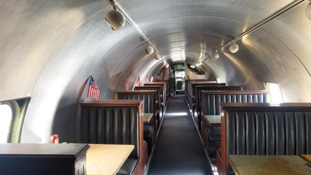 Disused planes across the world converted into restaurants