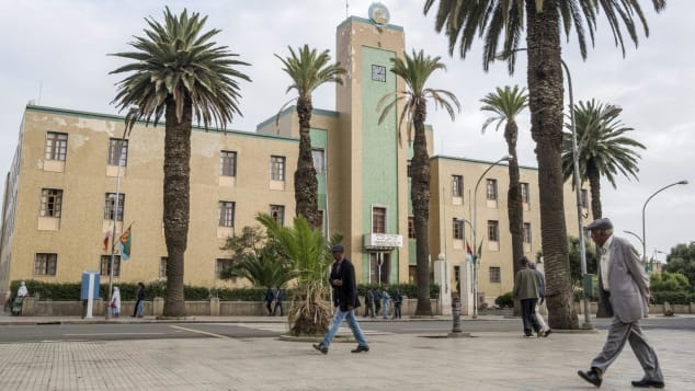 Eritrea's capital Asmara is a design-lover's dream.