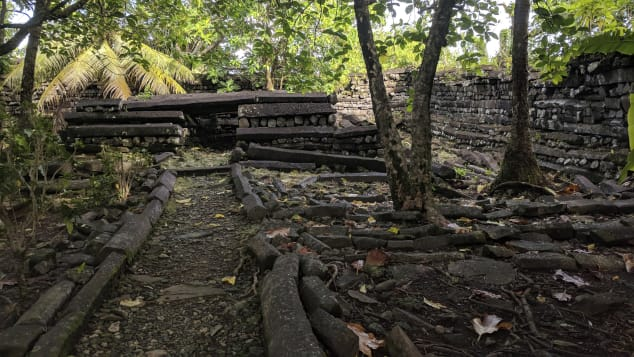 The ancient city of Nan Madol is home to grand basalt palaces and temples.