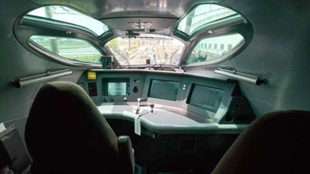 The model will operate at speeds of up to 360 km/h.