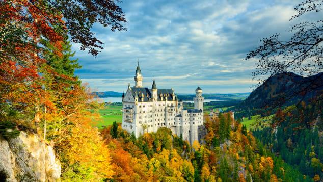 Neuschwanstein Castle 002