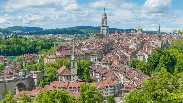 The Old Town of Bern -- a UNESCO World Heritage site.