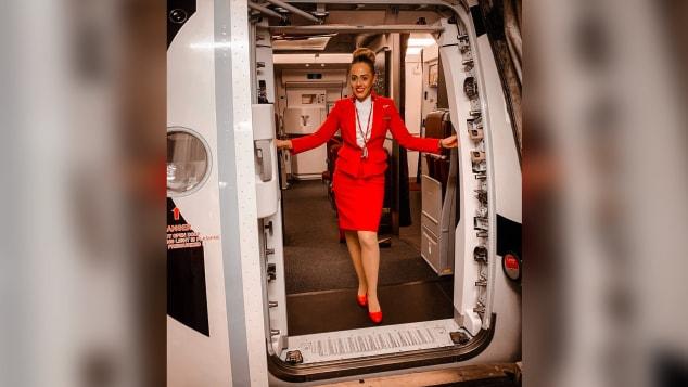 Jordan Milano Hazrati lost her job after eight months as a Virgin Atlantic flight attendant.
