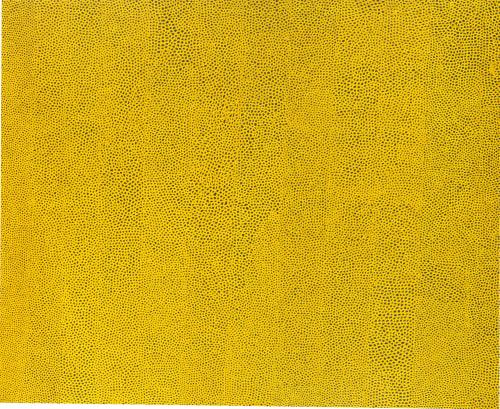 Yayoi Kusama Nets Yellow
