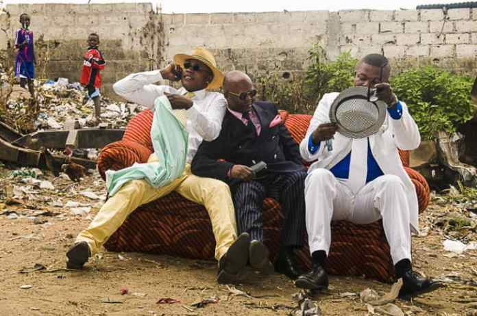 Congolese sapeurs.