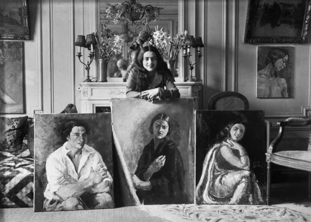 Amrita Sher-Gil is considered one of the most prominent modernist artists in India's art history.