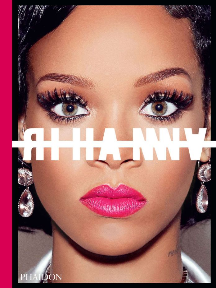 "The cover of Rihanna's ""visual autobiography,"" officially published by Phaidon on October 24."