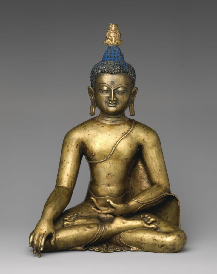 Buddha Shakyamuni, 12th century, central Tibet.