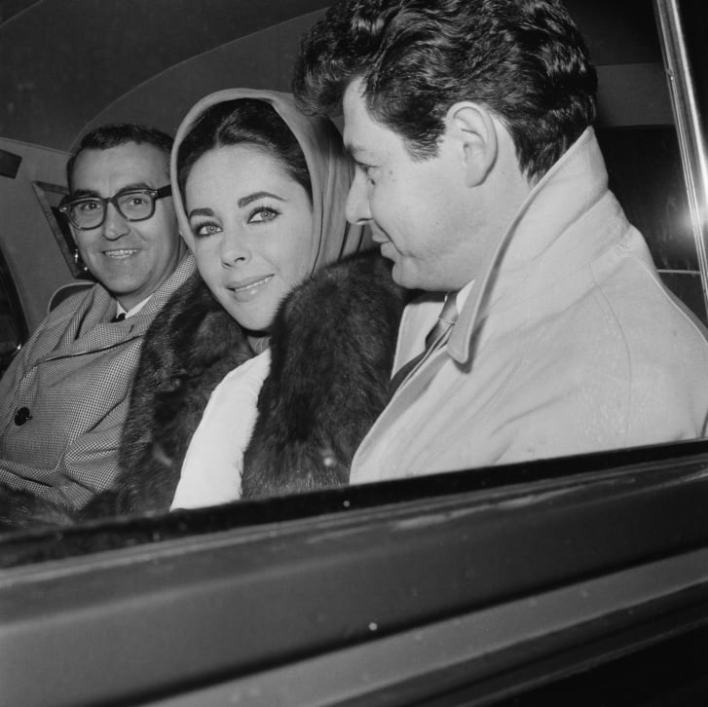 Actress Elizabeth Taylor considered the headscarf a key piece for a woman's wardrobe.