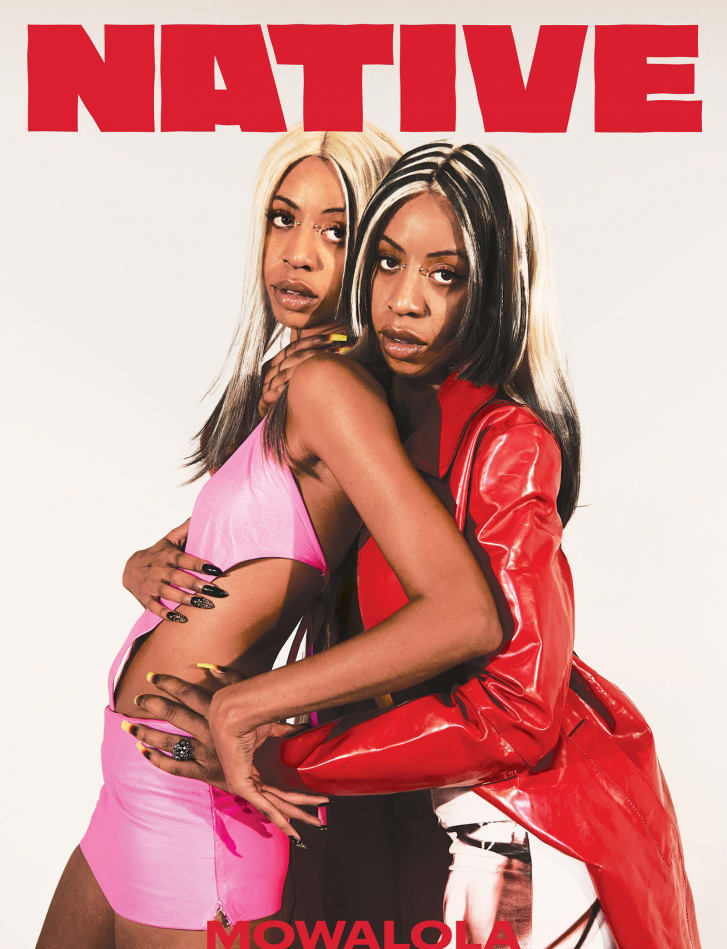 Nigerian-British designer Mowalola for Native Mag issue 004 cover.