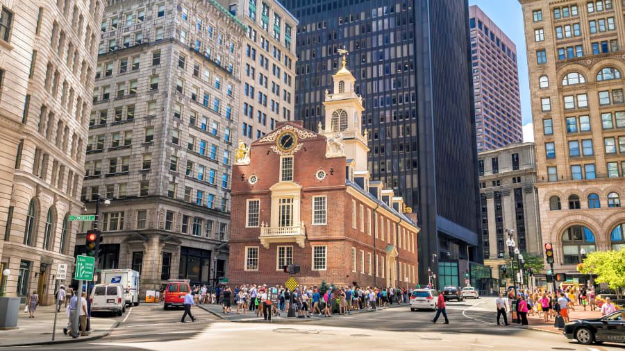 5 fantastic places to visit in July   CNN Travel 02 where to go july   freedom trail boston