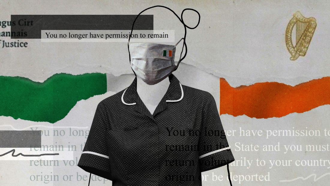พวกเขาช่วยชีวิตระหว่างการระบาด - ตอนนี้พวกเขาถูกเนรเทศออกจากไอร์แลนด์