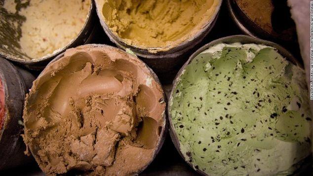 Ice cream -- not just break-up food.