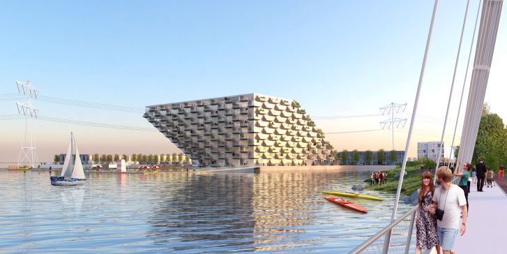 IJburg by BIG and Barcode Architects 1