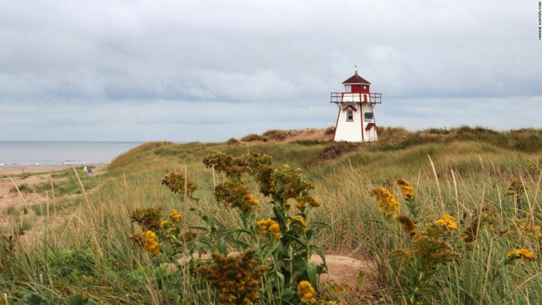 "Prince Edward Island is the fictional home of ""Anne of Green Gables."""
