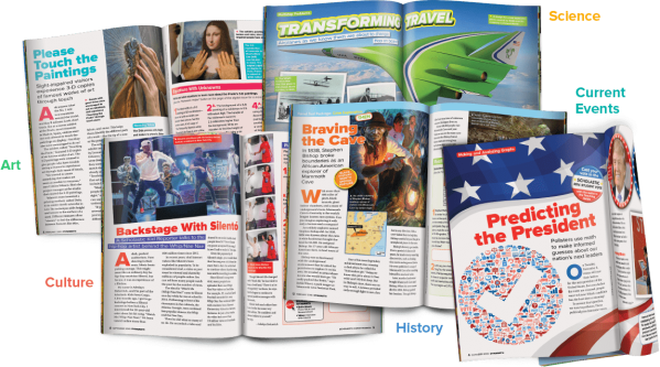 Scholastic DynaMath | The Math & Literacy Magazine for ...