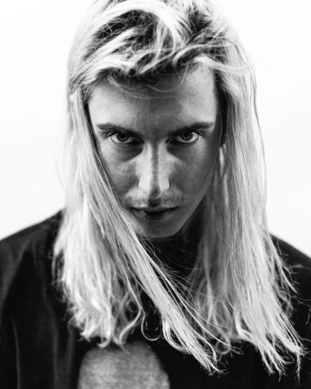 ghostemane white hair