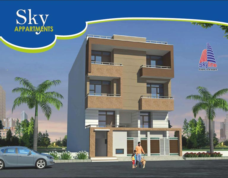 Sky Appartments Jaipur Rajasthan India Residential