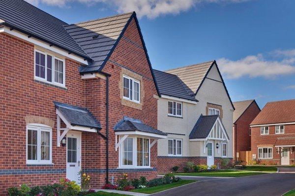 Bishop Fields in Hereford is built by Barratt Homes