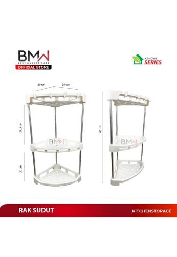 Jual BMW Kitchenware BMW KITCHEN WARE - RAK BUMBU DAPUR KAMAR MANDI PEN  Original   ZALORA Indonesia ®