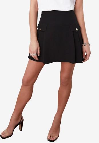 Jual Trendyol Pocket Detail A-Line Skirt Original | ZALORA Indonesia ®