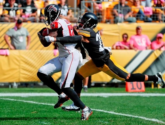 Image result for Steelers look strong in 41-17 win over Falcons