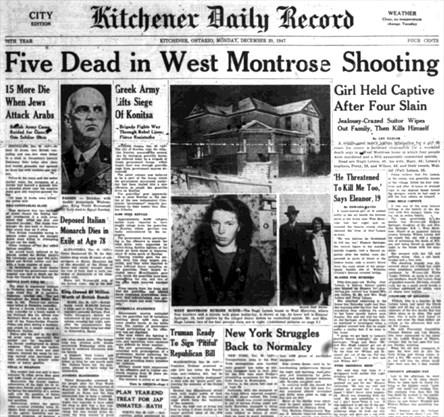 Memories of murder-suicide still linger in West Montrose ...