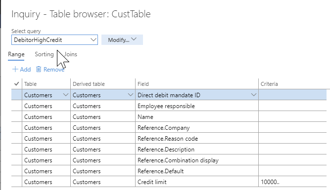 Cool Tool – Chrome Table browser for Dynamics 365 FOEE – Microsoft