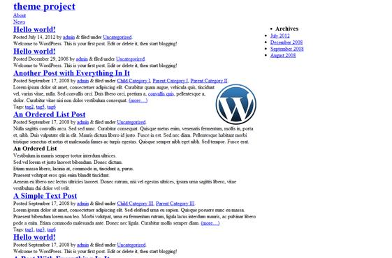 Blank Responsive HTML5